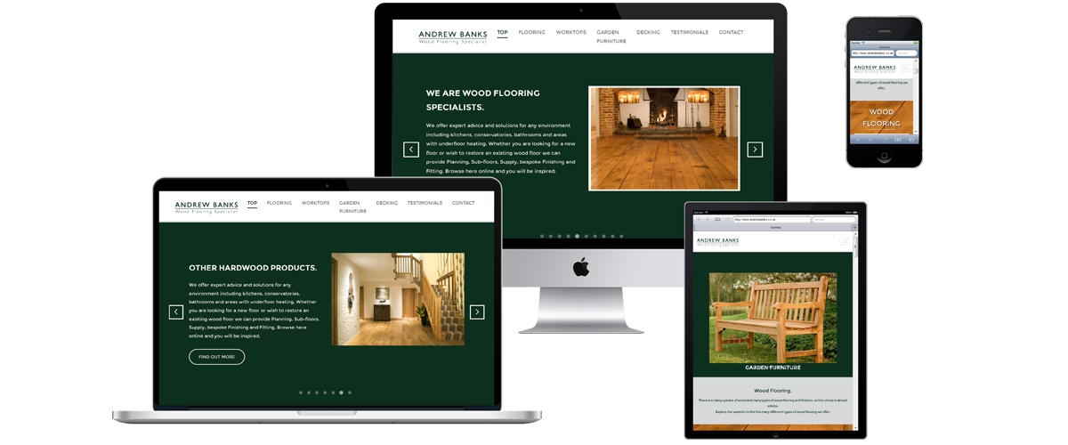 andrew banks web design