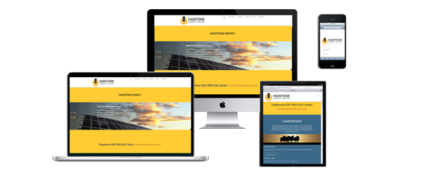 hadstone website design
