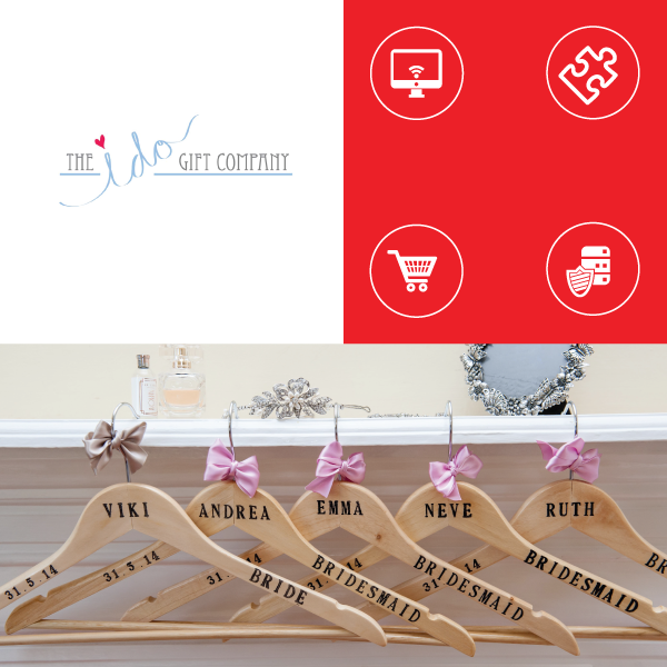 The I Do Gift Company Website Design